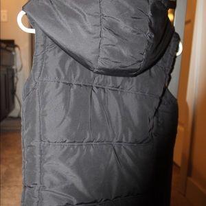 Small Black Fur Vest